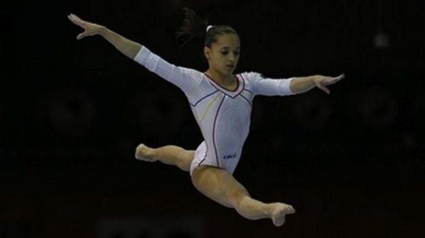 gymnast s split uniform rips