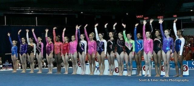 erin san mateo gymnastics meet