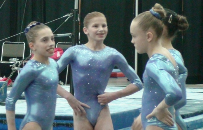 christmas at the chesapeake gymnastics meet