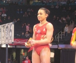 The Gymnasts Of The 2013 At Amp T American Cup