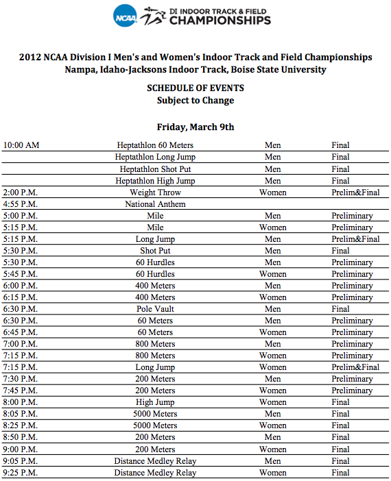 aau track meet schedule 2012