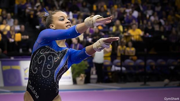 Friday Focus: SEC Gymnast Of The Year Kytra Hunter