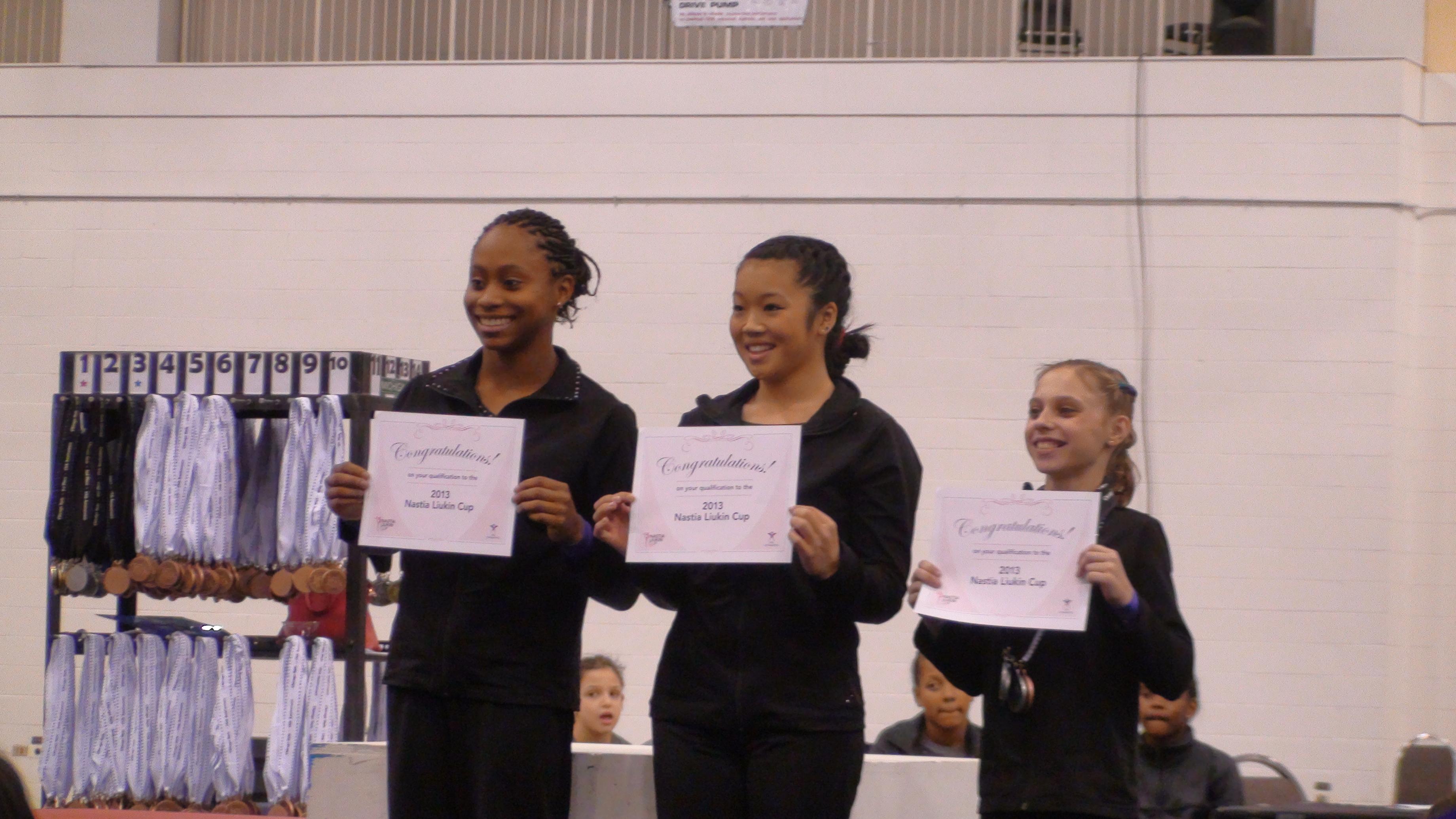 chicago gymnastics meet results